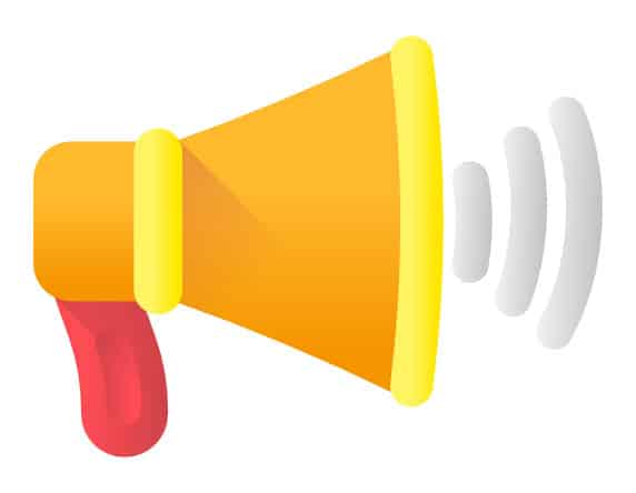 Call to Action Megaphone Icon