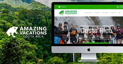 Amazing Vacations Costa Rica Cover Image