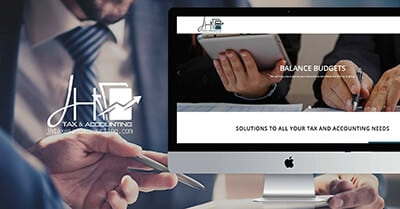 JH Tax and Accounting Website